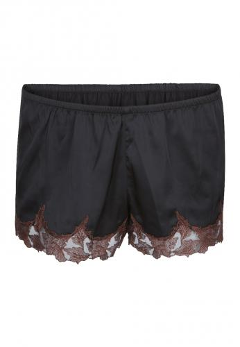 LingaDore - French Knickers - Schwarz/Braun Small